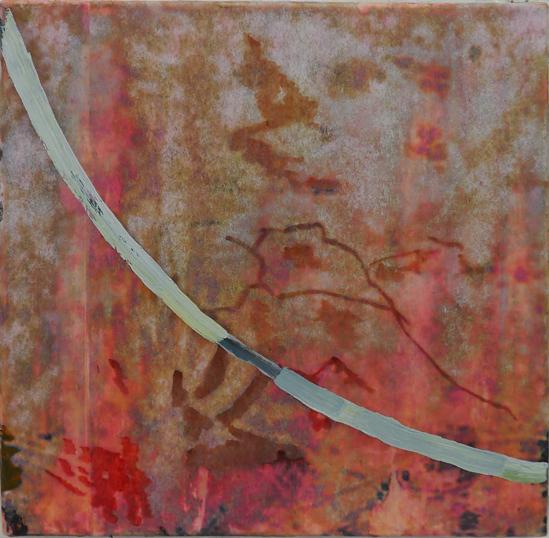 Synergy III 2014 mixed media on canvas 25x25cm copy Paintings