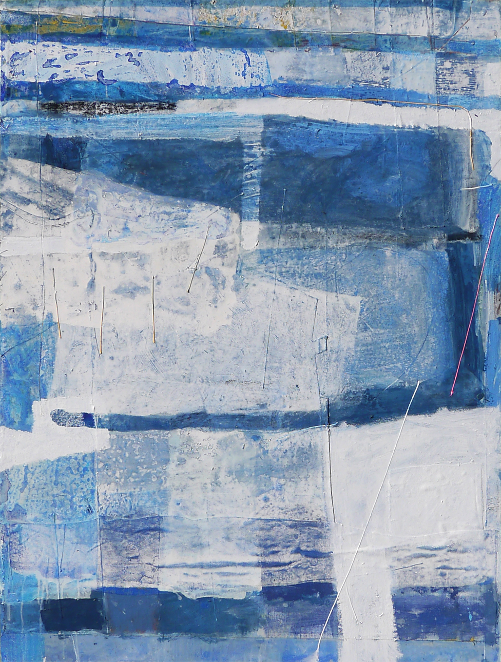 Mowzer 2019 91x122cm mixed media on board Paintings RECENT