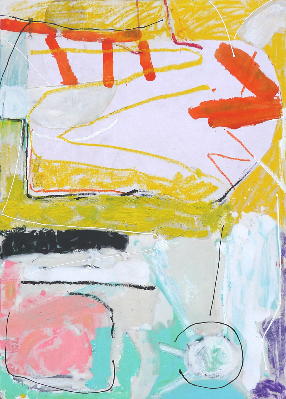 From the Island to the sea 2019 60c84cm mixed media on board Paintings RECENT